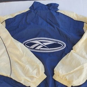 Vintage Big Logo Reebok Windbreaker XL